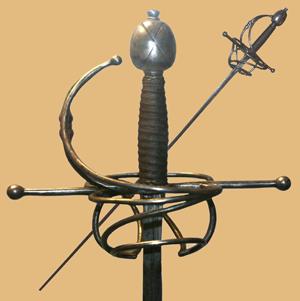 Рапира, первая половина 17 века