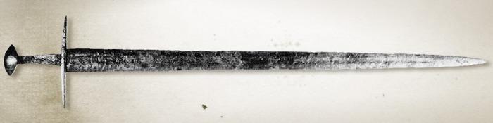 Меч типа Xa по Окшотту, Музей Армии, Париж